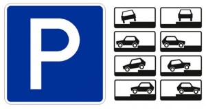 Парковка до и после поворота