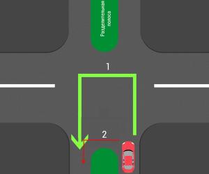 Как правильно разворачиваться на перекрестке