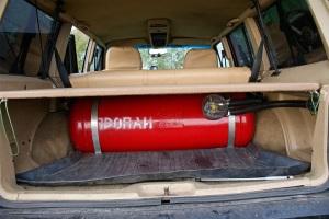 Штраф за установку газобаллонного оборудования на авто
