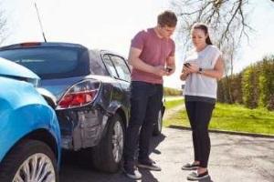 Составление протокола о происшествии на дороге