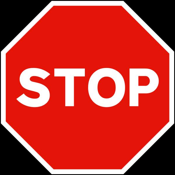 """Как выглядит знак """"Стоп"""""""