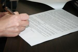 Составление договора купли-продажи
