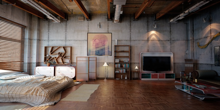 Апартаменты в стиле Лофт