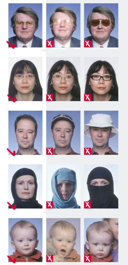 Каким должно быть фото на заграничный паспорт РФ