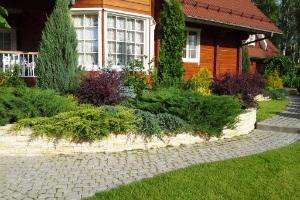 Сколько метров от дома составляет придомовая территория частного дома?