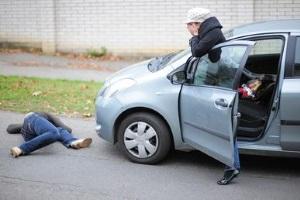 Наказание за сбитого пешехода на пешеходном переходе