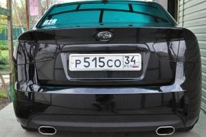 штраф за нарушение ГОСТа , при наклейки затемняющих пленок на фары авто.