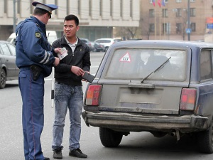 Водительские права для иностранцев в России