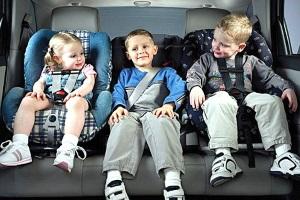 Общие правила транспортировке пассажиров до 12 лет
