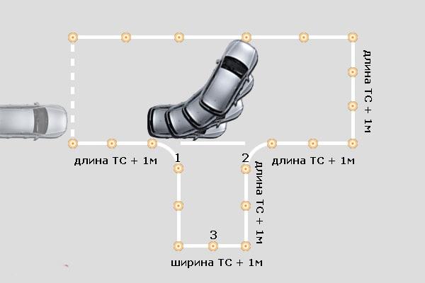 развернуть руль в левую сторону