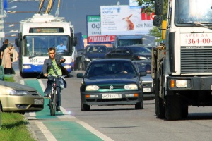 Где разрешено ездить на велосипеде