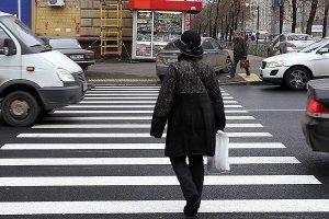 Новые правила проезда пешеходного перехода